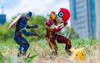 Superhero Toys at the Weekend - Photographs by Hot Kenobi