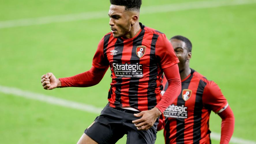 AFC Bournemouth in action