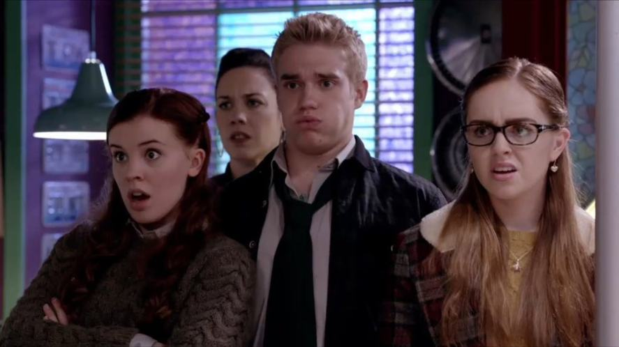 A scene from Wolfblood