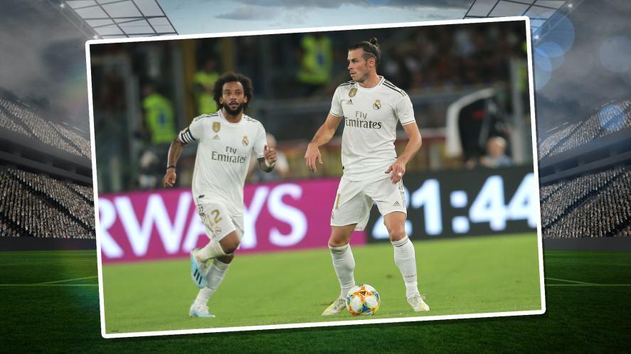 AS Roma versus Real Madrid at Stadio Olimpico in Rome