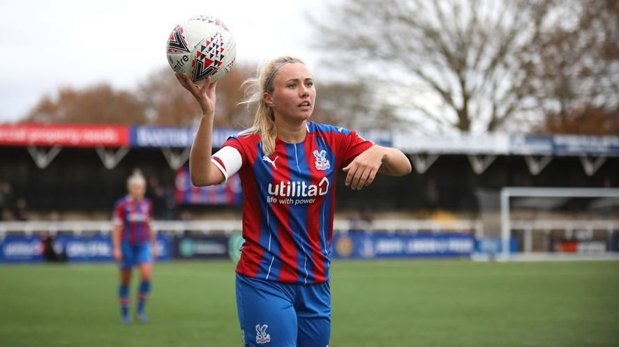Crystal Palace Women defender Annabel Johnson