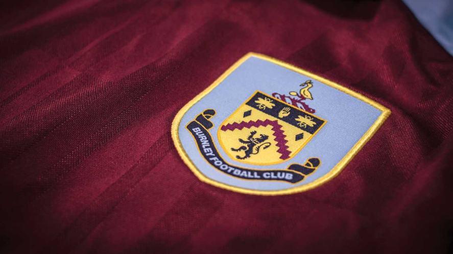 A Burnley home kit shirt
