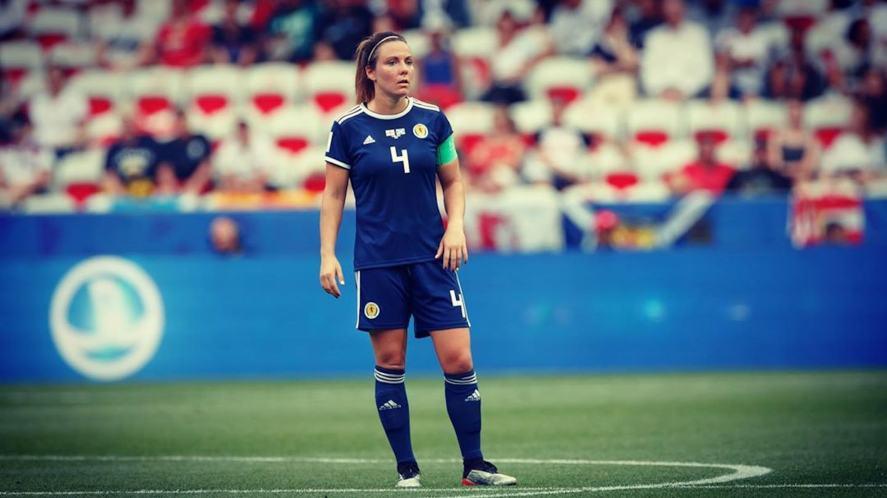 Scottish women's football team captain Rachel Corsie