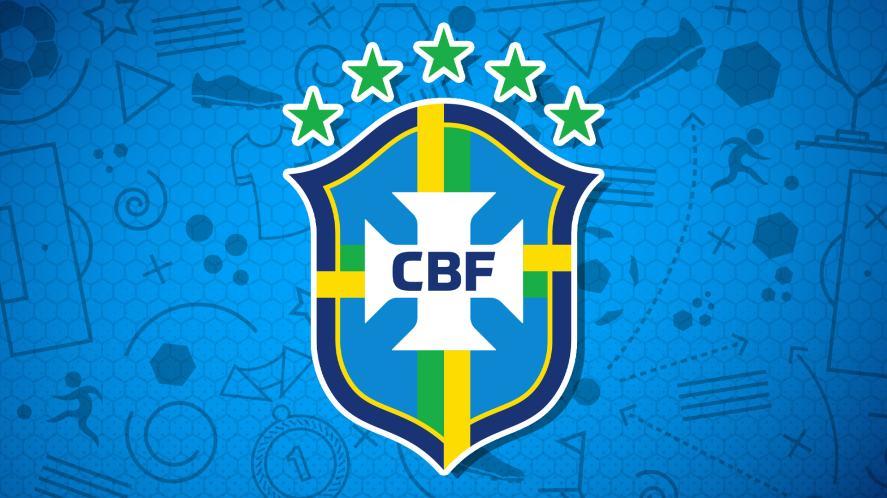 Brasil football badge
