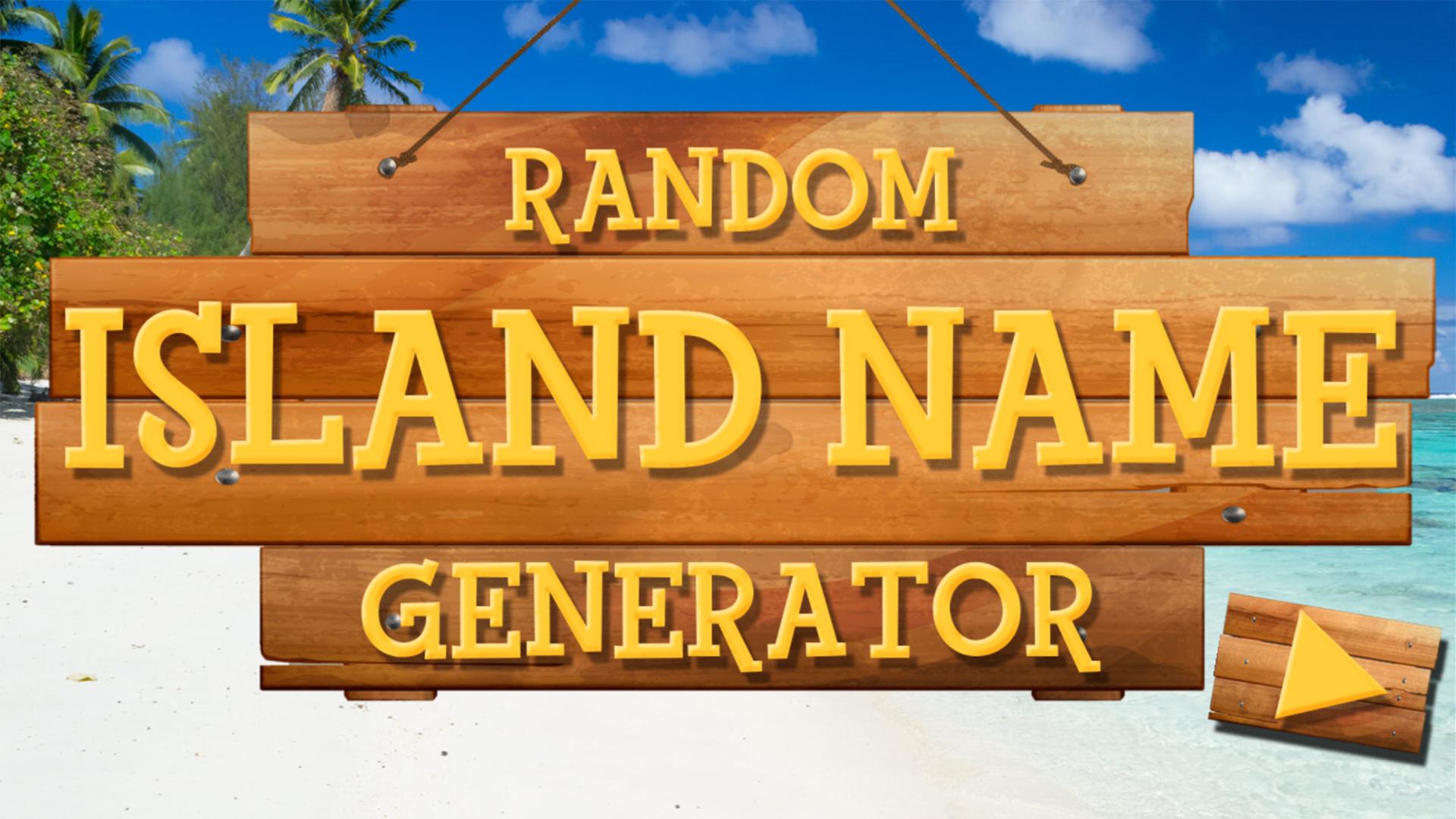 The Random Island Name Generator