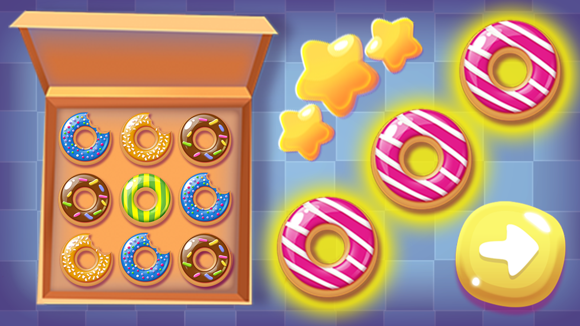 Play Match 3 Donuts