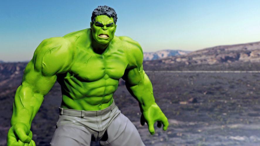 Good Smile Company action figure based on Hulk