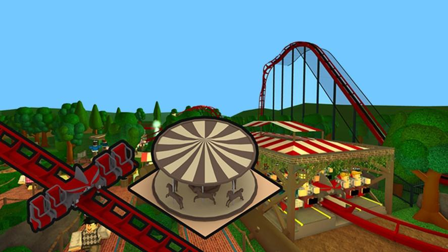 Roblox rollercoaster