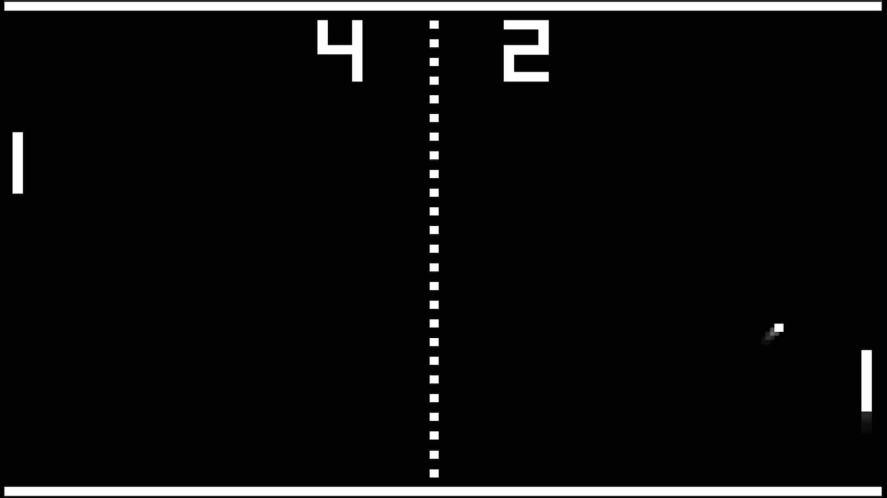 Atari table tennis game