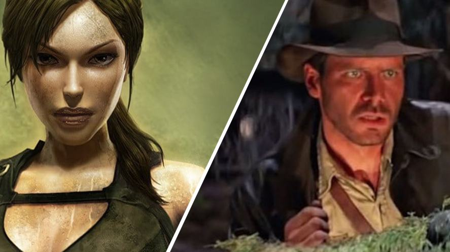 Raider's Lara Croft and Indiana Jones