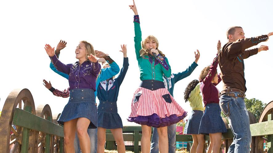 Scene from Hannah Montana