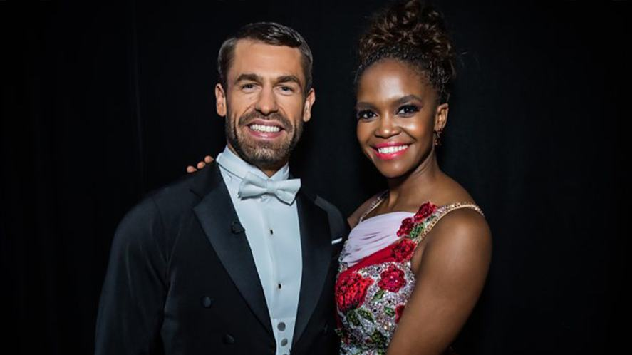 Strictly Come Dancing's Kelvin Fletcher and Oti Mabuse