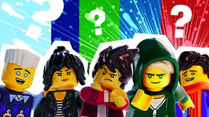 Which Lego Ninjago Ninja are You?