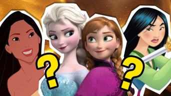 pocahontas, mulan and the frozen sisters