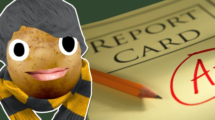 Newt Scamander and a good report card
