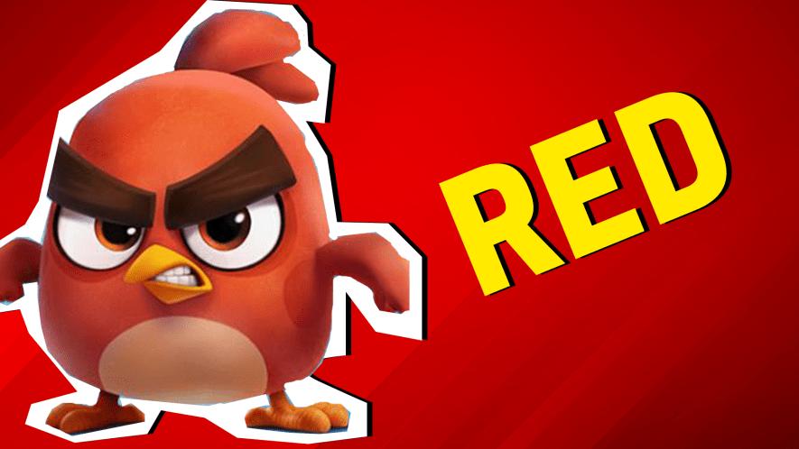 Red result