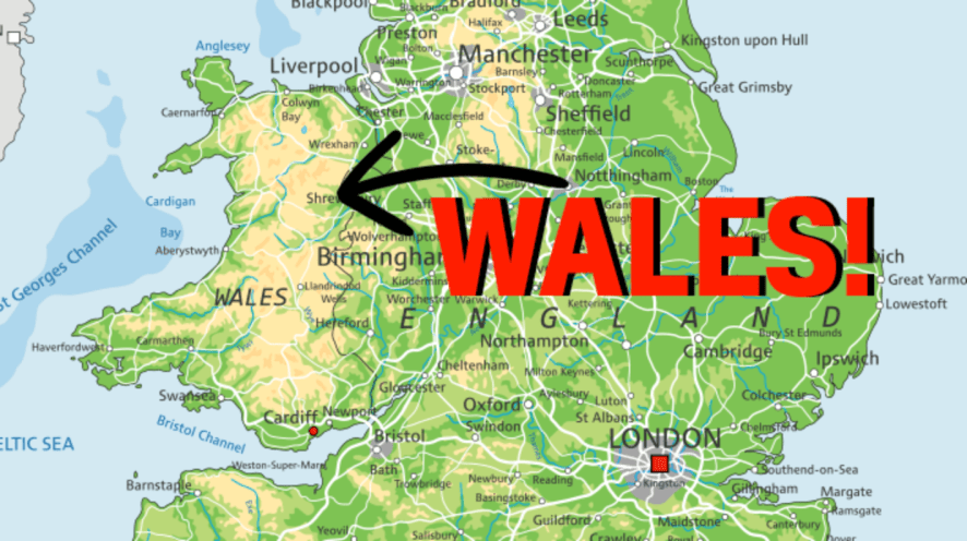 Wales result