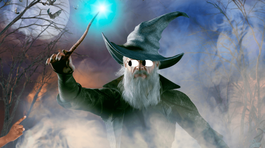 An old wizard