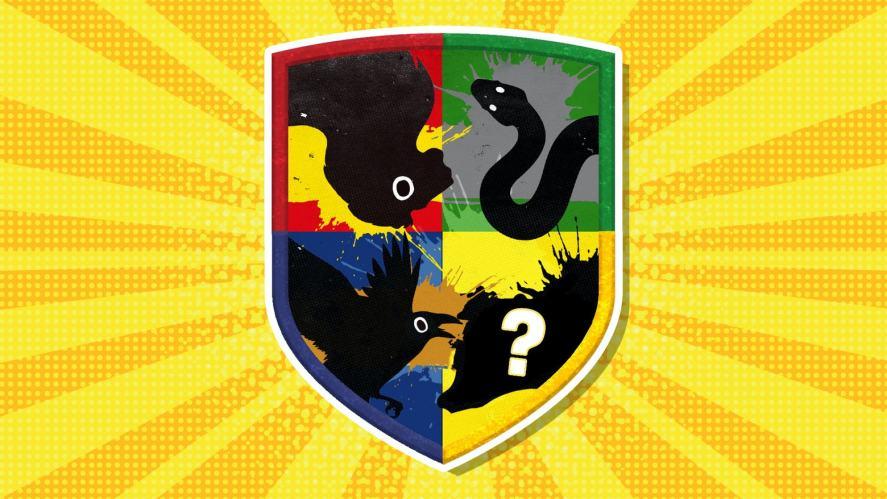 The Hogwarts house badge