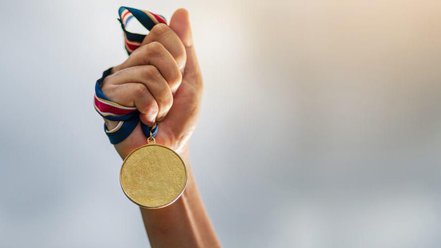 A medal winner