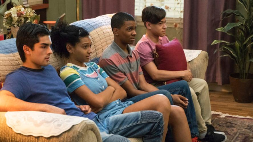 A scene from On My Block