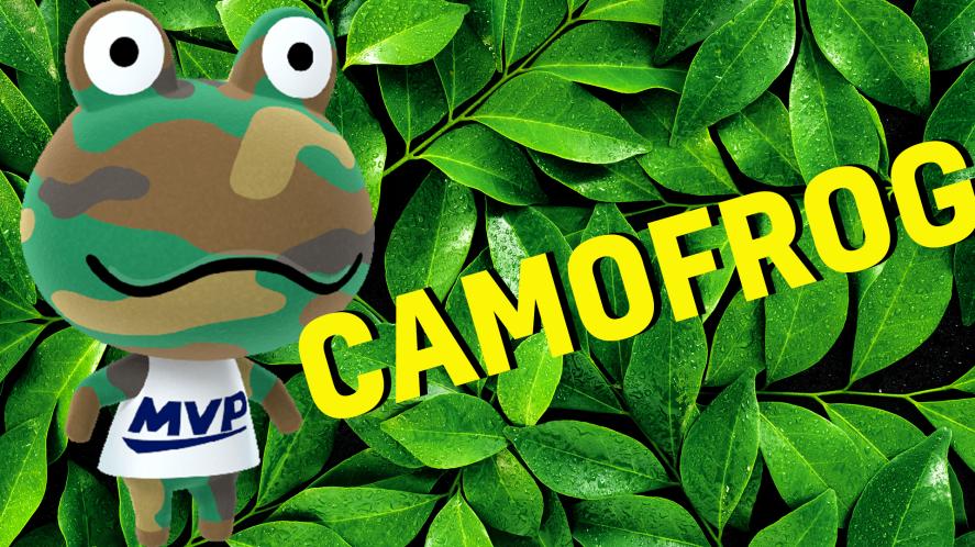 Camofrog result