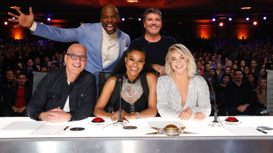 Simon Cowell with AGT judges