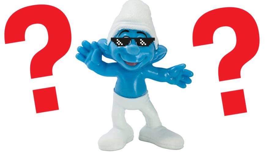 Smurf figurine