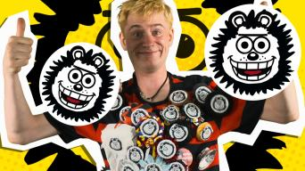 Make Your Own Gnasher Badge!