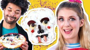 Butternut Squash Zombie Pancakes | Crunch