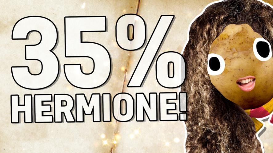 35% Hermione!