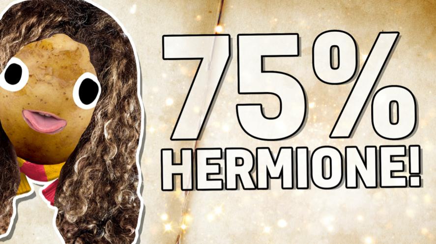 75% Hermione!