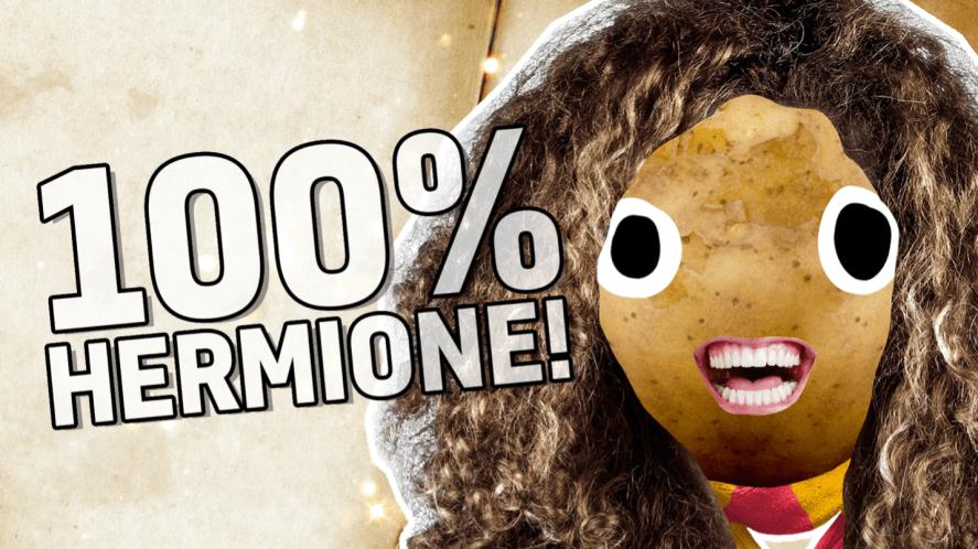 100% Hermione!