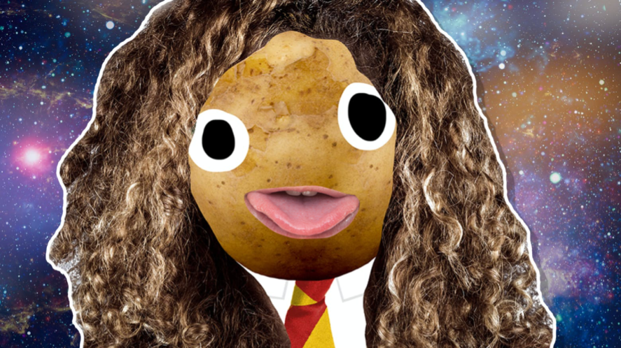 Hermione in space
