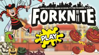 Play Forknite and Defeat the Veg!