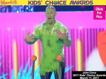 John Cena Gets Slimed