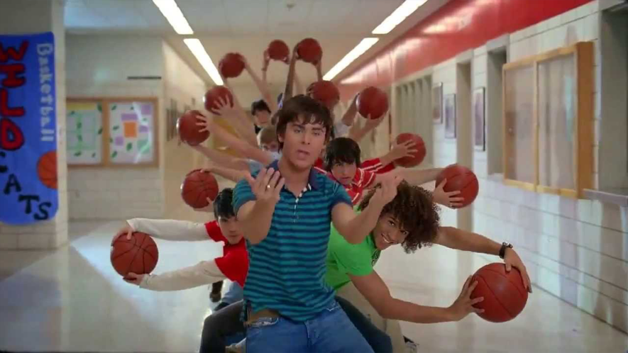 Basketball players in High School Musical 2