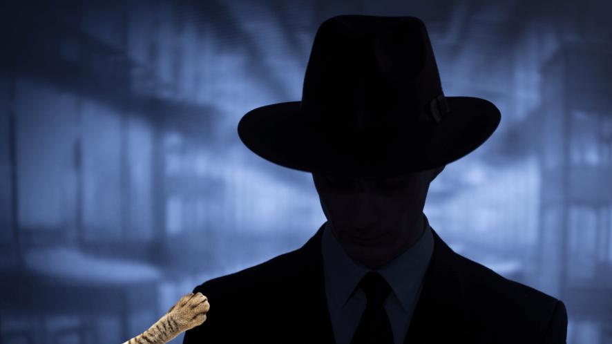 A villain in the shadows