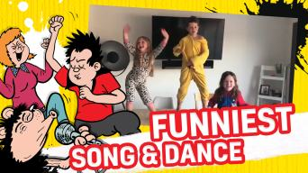 Funniest Family Song and Dance! - Get Inspired