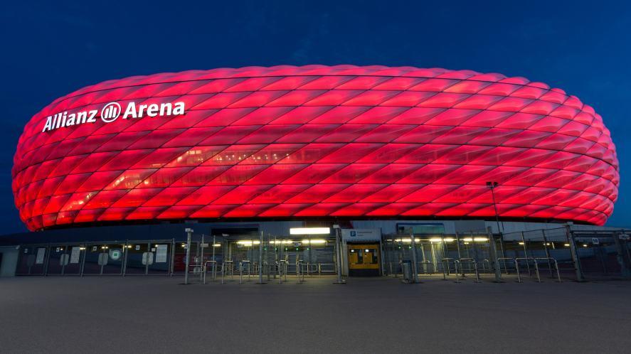 Allianz Arena in Bavaria, Germany