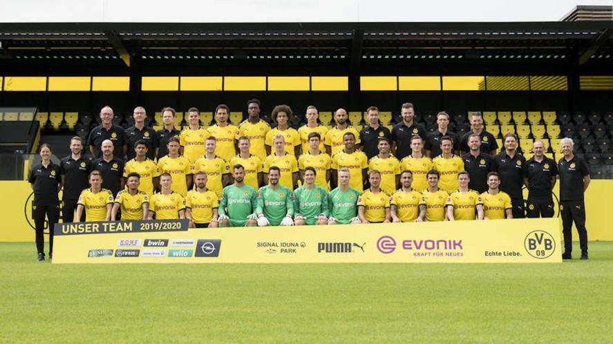 BVB first team 2019-20