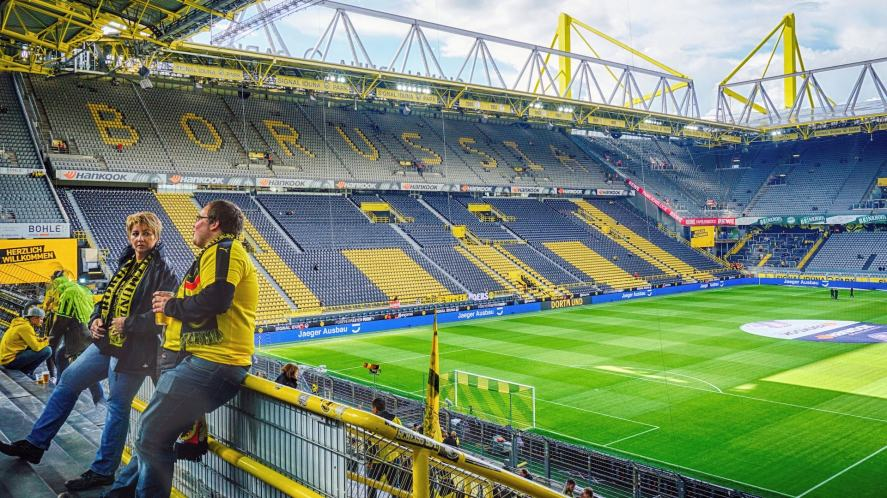 Borussia Dortmund's ground
