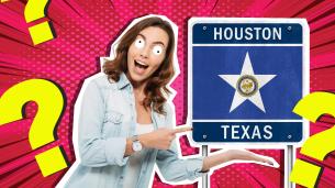 Lady in Houston