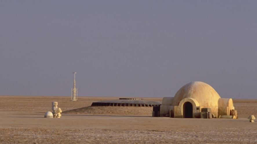 A photograph of the Star Wars IV set