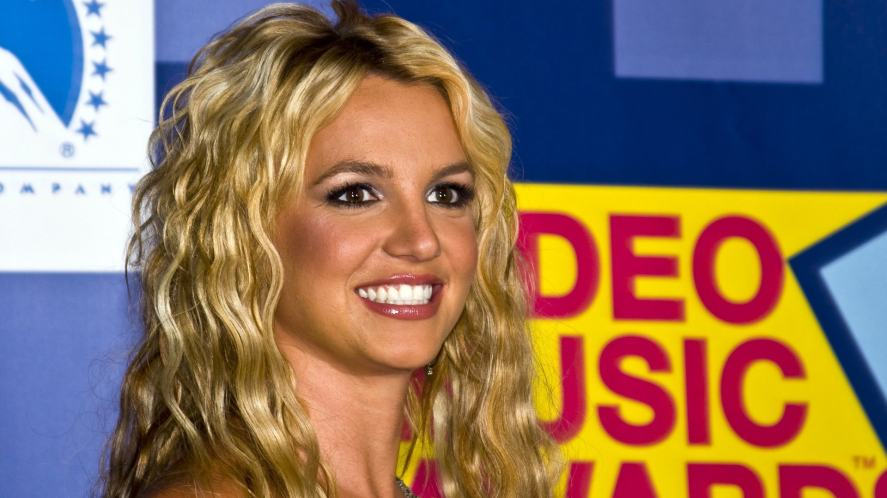 Britney Spears in the press room at the 2008 MTV Video Music Awards