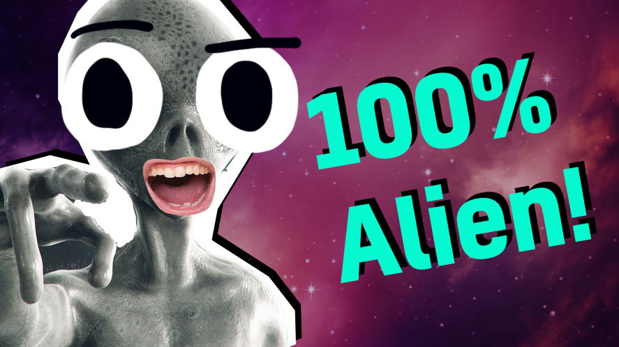 100% Alien result