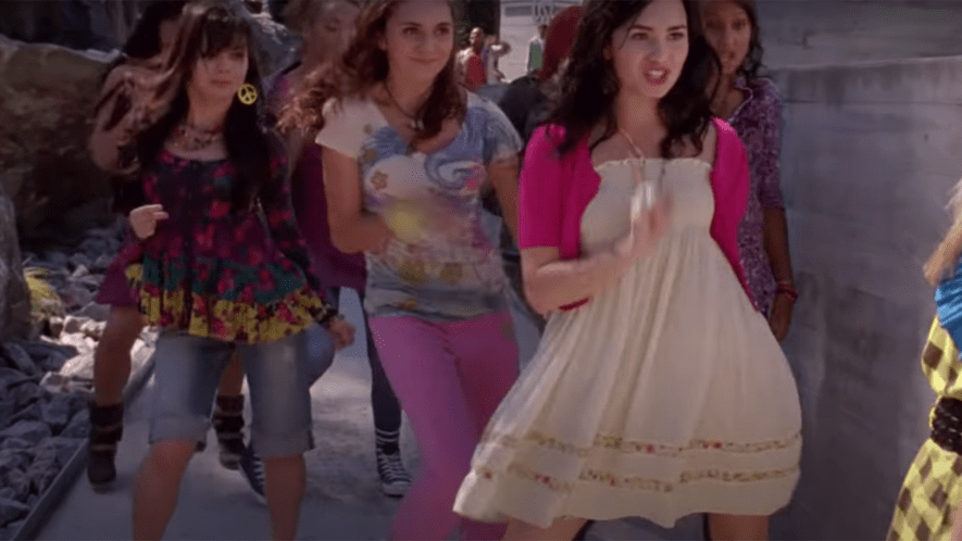 Demi Lovato dancing