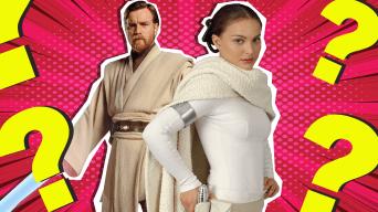 Obi-Wan Kenobi and Queen Amidala