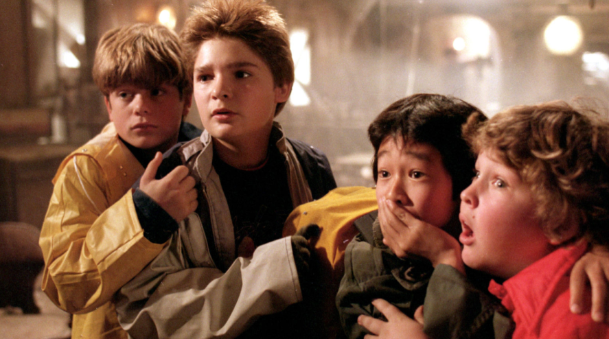 A scene from The Goonies
