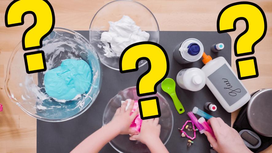 Slime making ingredients